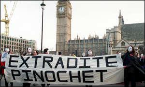 Bbc News World Protest Against Pinochet