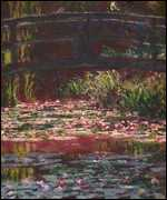 The Bridge over the Water Lily Pond