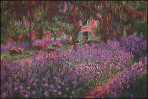 The Garden at Giverny: Inspiration for much of Monet's late work