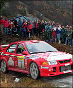[ image: Makinen has won the past three world titles]