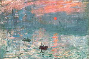 [ image: Impression: Sunrise, 1872]