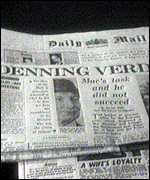 [ image: Denning's inquiry into the Profumo scandal put him in the public eye]