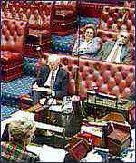 [ image: The Lords blocked a cahnge in the law in 1998]