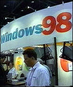 Windows 98 stand