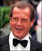[ image: Roger Moore: Reportedly unhappy with Persuaders re-runs]