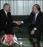 Hassan with Netanyahu