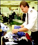 [ image: Customs: Stopped Spencer at Heathrow]