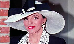 """Joan Collins says stage nudity is """"unseemly"""""""