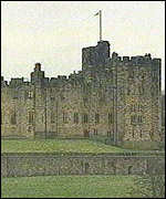 [ image: Alnwick Castle: Formerly landscaped by Capability Brown]