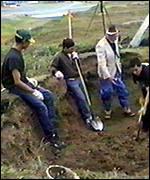 exhuming 1918 influenza victim buried in Alaska permafrost