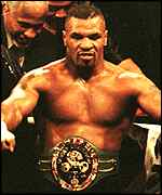 [ image: Heavyweight champion: Tyson in happier times]