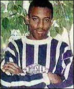 [ image: Stephen Lawrence was stabbed at a bus stop]