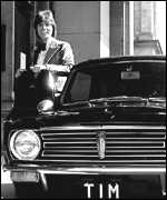 [ image: Cliff Richard was one of the lucky celebrities chosen to raise the Mini's profile]