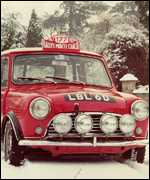 [ image: The Mini gained in stature with its rally success]