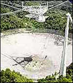 [ image: Arecibo: the world's largest radio telescope]