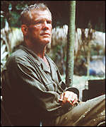 [ image: Thin Red Line starring Nick Nolte: yet to be seen in Britain]