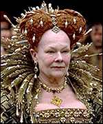 [ image: A regal Dame Judi Dench]