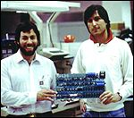 [ image: Steves Wozniack and Jobs and an early Apple, now probably worth its weight in gold]