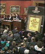 [ image: The 1988 auction of Van Gogh's Sunflowers. Will laptops one day take paintings' place?]