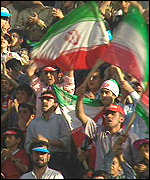 [ image: Soccer fever peaked when Iran beat the USA in the 1998 World Cup]