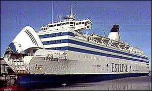 Bbc News Europe Estonia S Victims To Rest At Sea