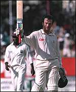 [ image: A 1995 double century against the West Indies was his finest innings]