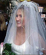 [ image: Carla Cordell on her  wedding day]