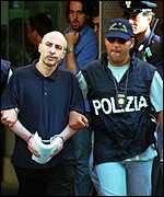 [ image: The Mafia's reputed No.2: Aglieri had stood trial before]