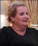[ image: Albright: More talks justified]
