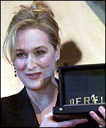 [ image: Meryl Streep: Grateful for staying popular]