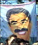 [ image: Some protesters are prepared to die for Mr Ocalan]