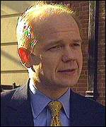 [ image: William Hague fears a conflict of interest]