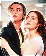 [ image: DiCaprio and Winslett play doomed lovers]