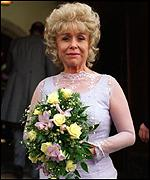 [ image: The wedding is unlikely to be the happiest day of Peggy's (Barbara Windsor) life]