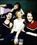 [ image: B*Witched: One of the 12 acts to reach number one in the past 12 weeks]