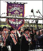 [ image: Protest at Drumcree]