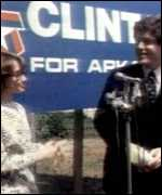[ image: Bill and Hillary Clinton campaigning in 1978]