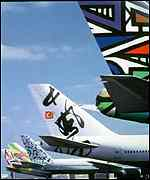 [ image: Lady Thatcher hated BA's new ethnic art tail fins]