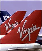 [ image: There is a long standing hostility between British Airways and Virgin]