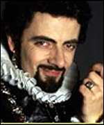 [ image: Rowan Atkinson as the cunning Blackadder]