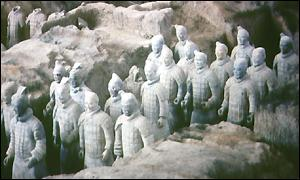 Terracotta army, Xian, northern China