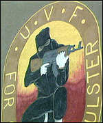 [ image: UVF: One of Northern Ireland's most notorious paramilitary organisations.]