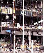 [ image: Docklands bomb, 1996: Death, destruction and an end to the first IRA ceasefire.]