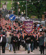 [ image: Drumcree: The dispute over the Orange Order march was one of Mo Mowlam's lowest points]