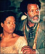 [ image: Sethe  and Paul D (Danny Glover), both former slaves from Sweet Home Plantation]