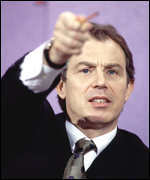 [ image: Mr Blair is seeking reform of Europe's defence]