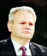 [ image: Mr Milosevic still opposes foreign troops in Yugoslavia]