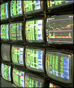 Share price screens
