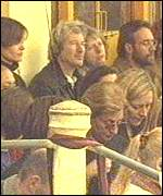 [ image: Actor Richard Gere was amongst the 4,000-strong audience]