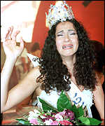 [ image: Tears of joy for the new Miss Israel]